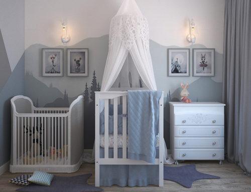 5 ideas para pintar la habitación de un bebé