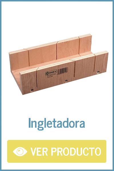 Ingletadora manual para madera