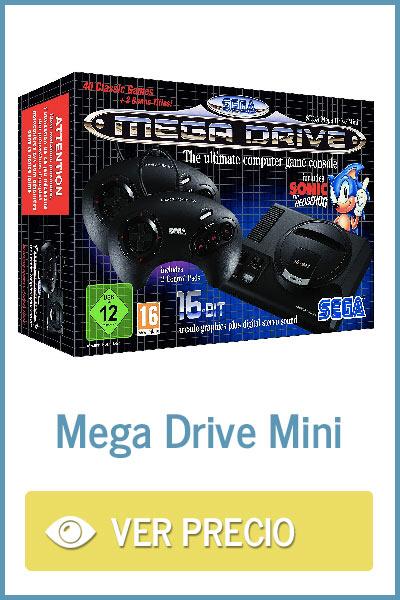 Precio Mega Drive Mini en Amazon