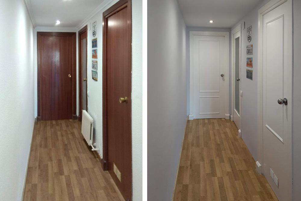 Renovar las puertas de casa con poco presupuesto