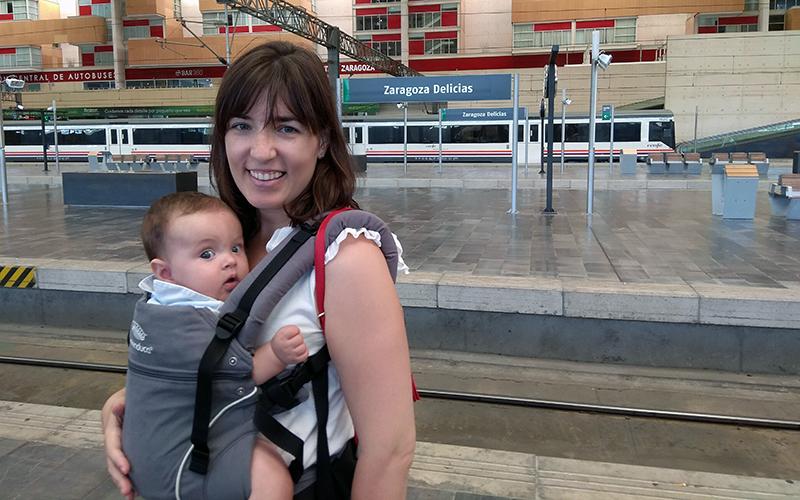 Viajar en AVE con un bebé