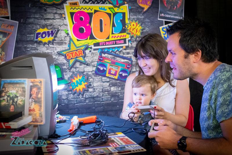 Videojuegos Retro en familia