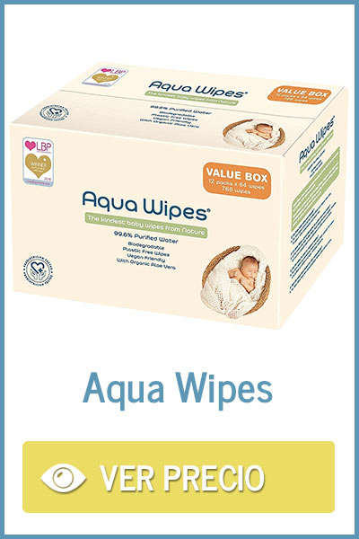 Precio toallitas Aqua Wipes