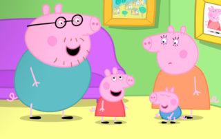 Peppa Pig en casa
