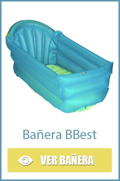Bañera hinchable de viaje para bebés BBest