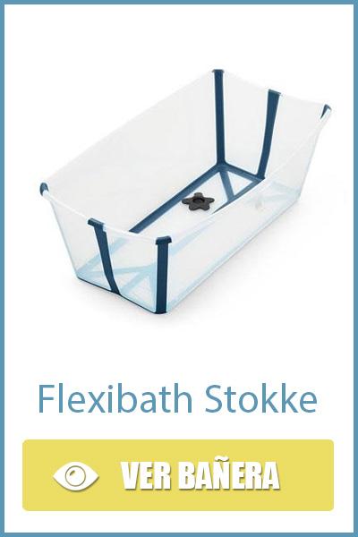 Bañera de viaje Flexibath de Stokke