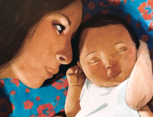 Una idea de regalo para una madre que acaba de dar a luz: El libro Mamá de Hélène Delforge & Quentin Gréban