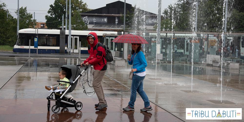 Silla ligera Mutsy Nexo para viajar con un bebé