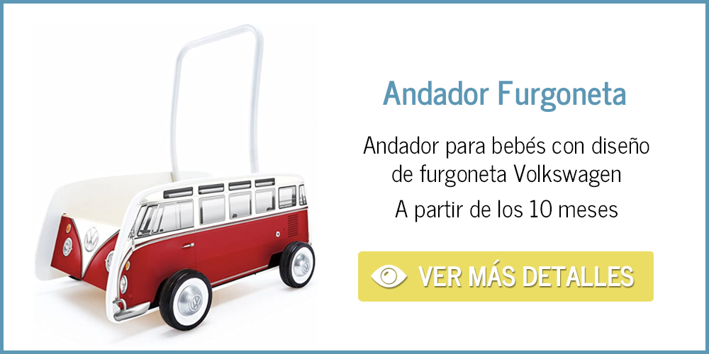 Andador de bebé de furgoneta Volkswagen
