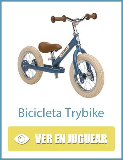 Bicicleta sin pedales vintage Trybike