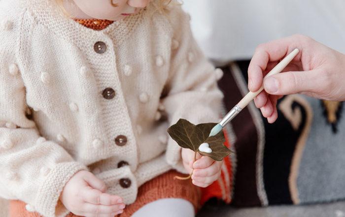 Manualidades sobre el otoño para niños pequeños de 2 a 4 años