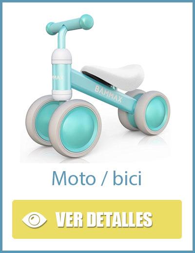 Moto ligera para niños sin pedales