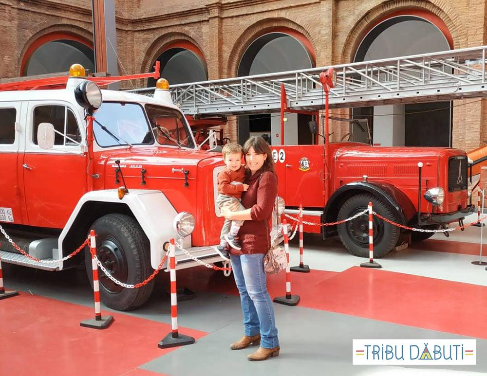 Museo del fuego y de los bomberos de Zaragoza para niños
