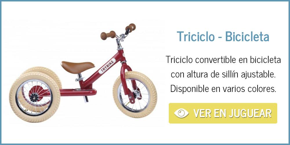 Triciclo convertible en bicicleta Trybike