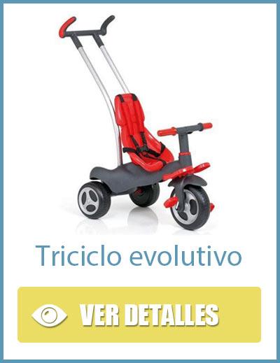 Triciclo evolutivo 3 en 1 para niños y niñas