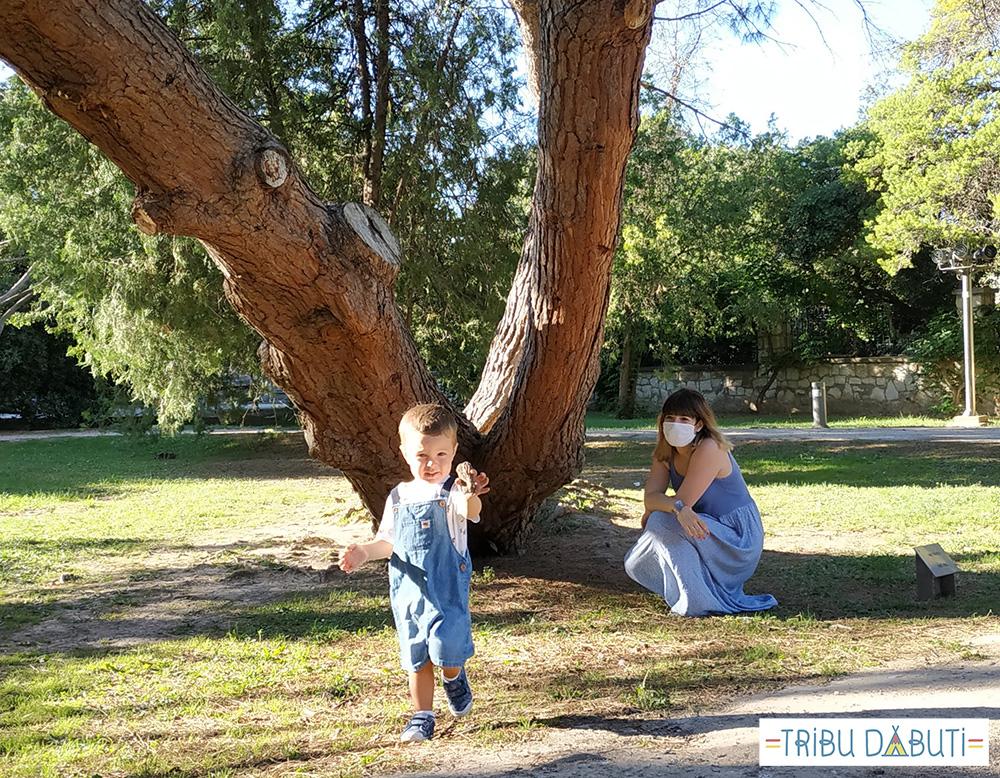 Zaragoza al aire libre con niños pequeños: descubrir los parques de la ciudad