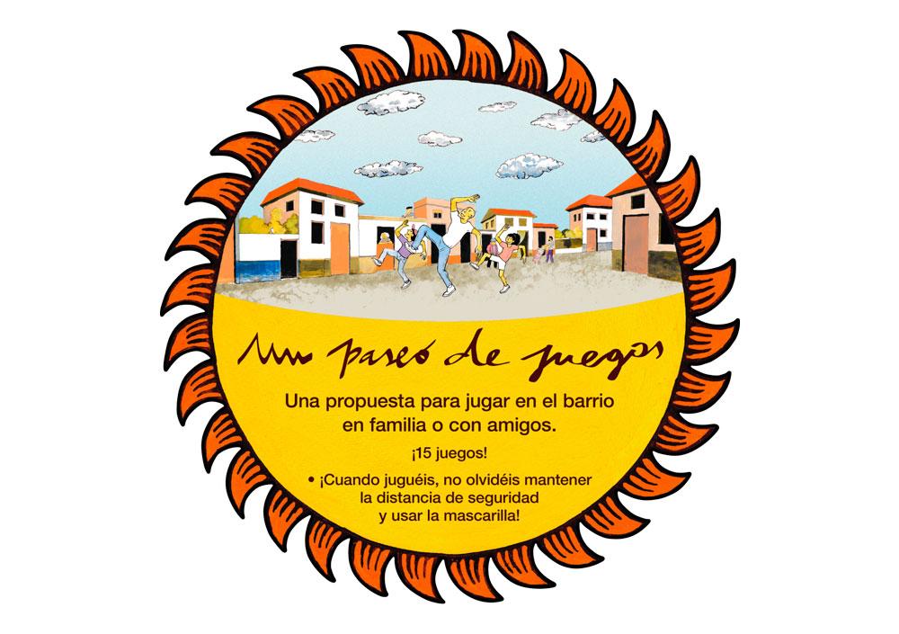 Un Paseo de Juegos por Zaragoza Logo