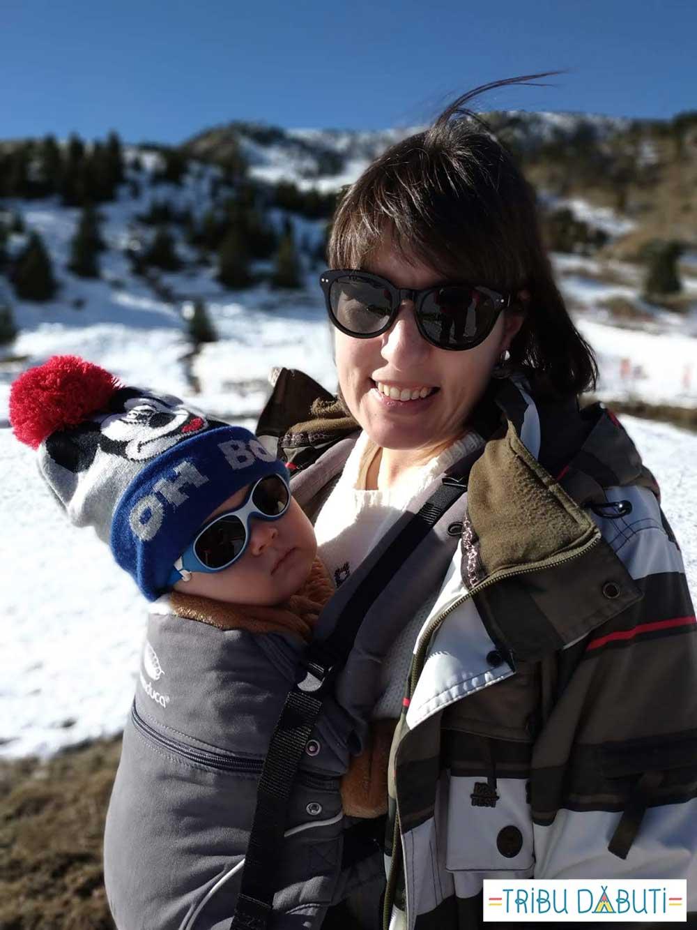 Mochila portabebés para ir a la nieve