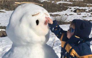 Consejos para ir a la nieve con un bebé