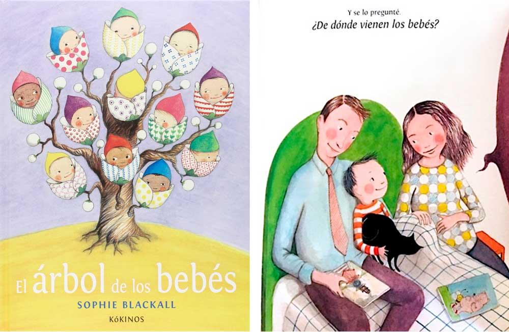 El árbol de los bebés libro de donde vienen los niños