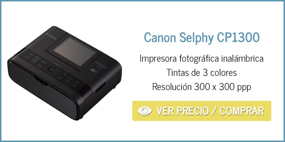 Impresora para fotos en casa Canon Selphy CP1300