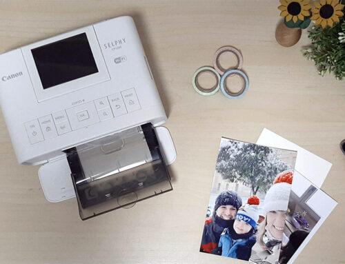 Mi impresora de fotos para casa: La Canon Selphy CP1300