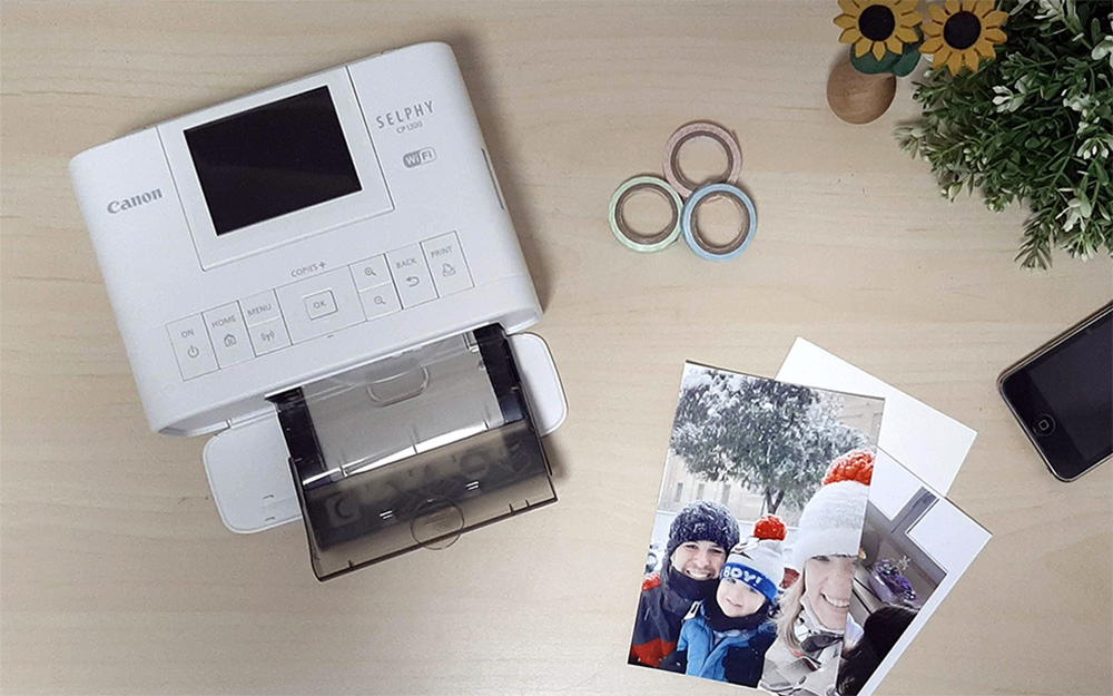 Impresora de fotos para casa Canon Selphy CP1300
