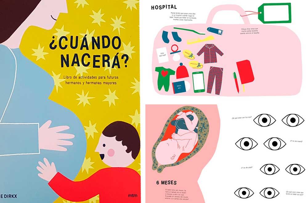 Libros para niños que van a tener un hermano con actividades