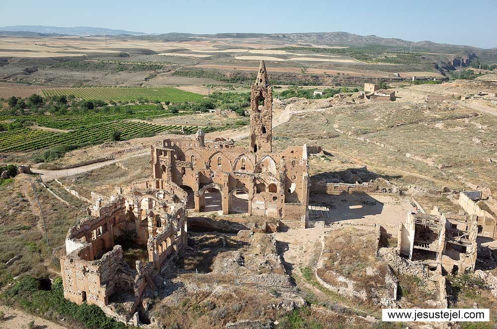 Los pueblos más bonitos de la provincia de Zaragoza: Belchite