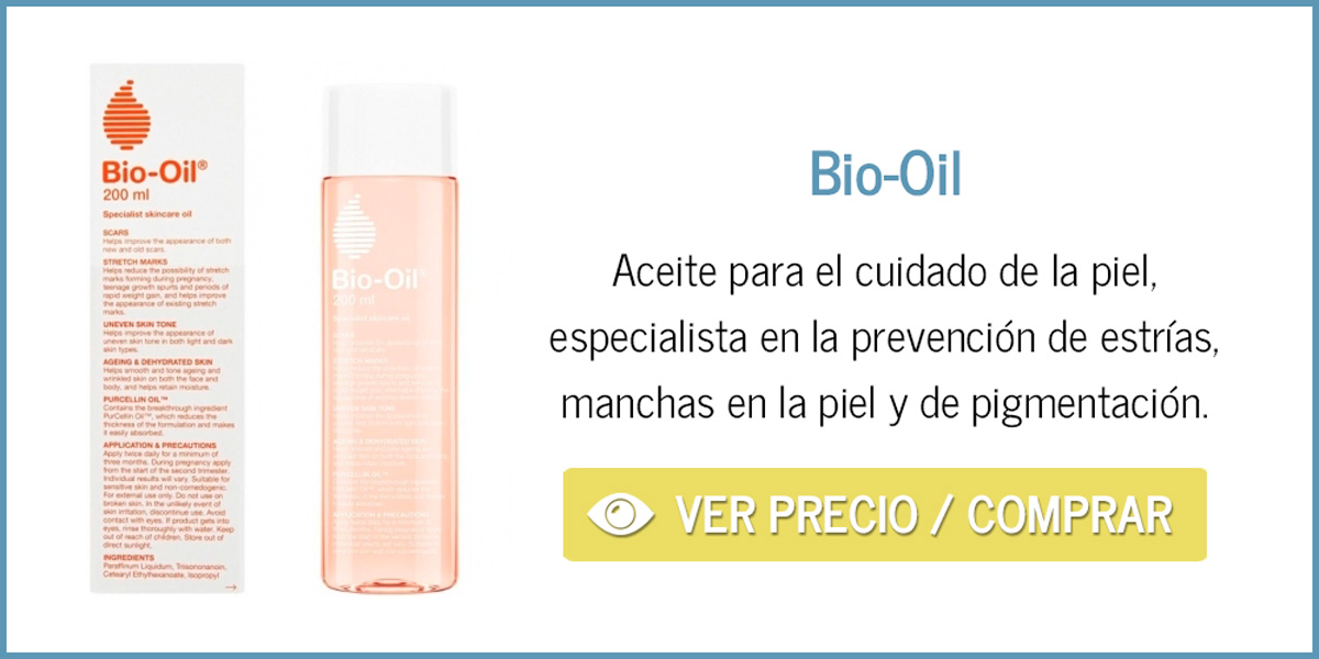 Aceite prevención estrías embarazo Bio-Oil