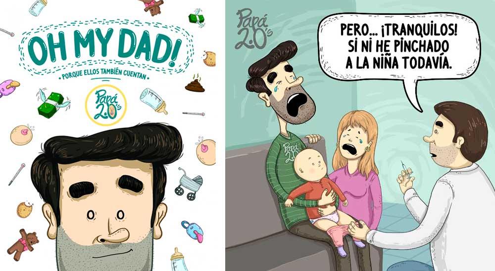Libros que regalar a un padre primerizo: Oh my Dad!