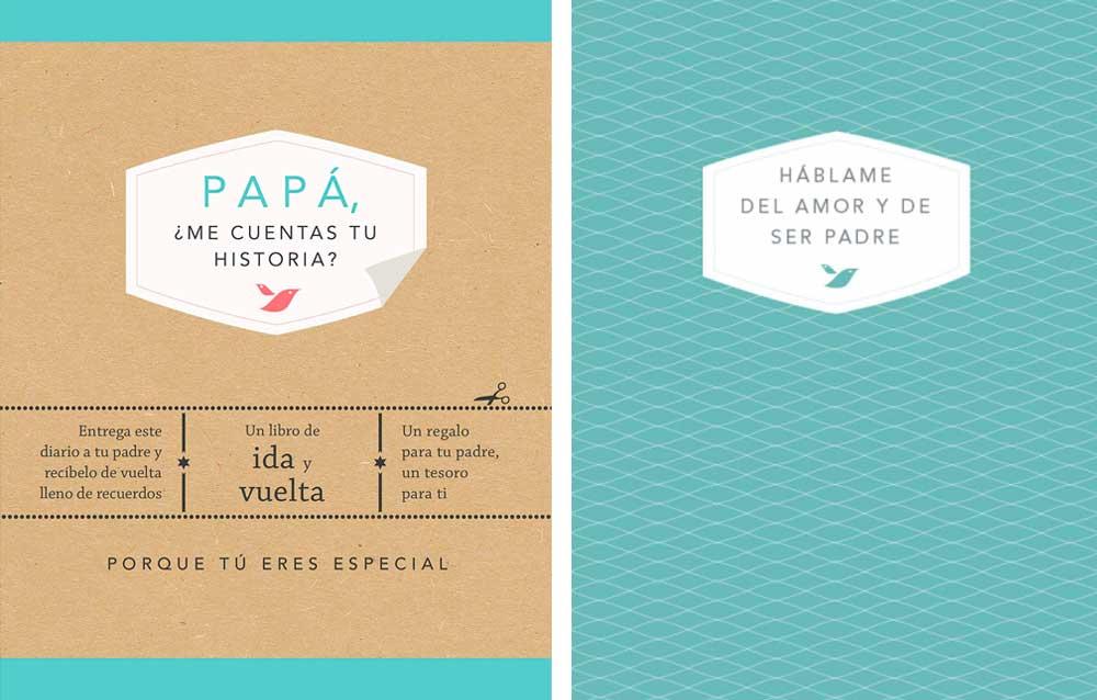 Libros que regalar a papá por el Día del Padre: Me cuentas tu historia